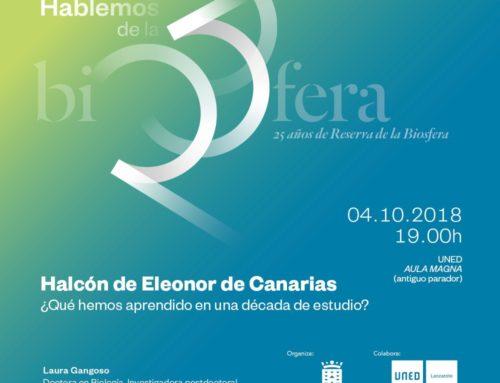 Halcón de Eleonor de Canarias ¿Qué hemos aprendido en una década de estudio?